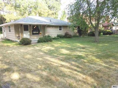 Michigan Center Single Family Home For Sale: 135 Maple Rd