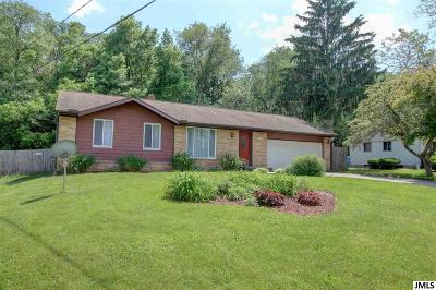 Jackson MI Single Family Home Contingent - Financing: $139,000