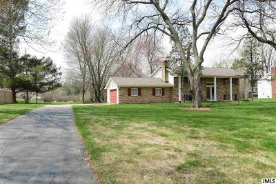 Jackson MI Single Family Home Contingent - Financing: $170,000