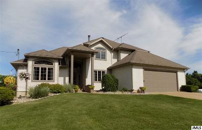 Jackson Single Family Home For Sale: 2855 Blackman Rd