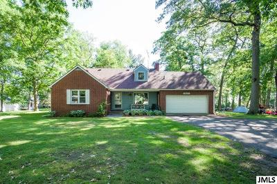 Pleasant Lake Single Family Home For Sale: 10591 N Meridian Rd