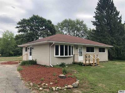 Jackson Single Family Home For Sale: 3521 Blackman Rd