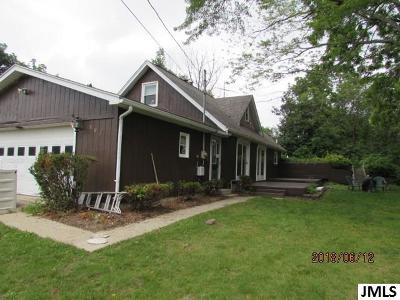 Brooklyn MI Single Family Home For Sale: $132,500