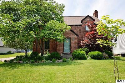 Jackson Single Family Home For Sale: 1004 S Brown
