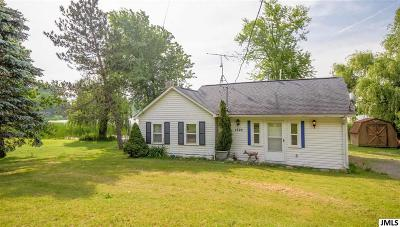 Pleasant Lake Single Family Home Contingent - Financing: 1220 White Lake Rd