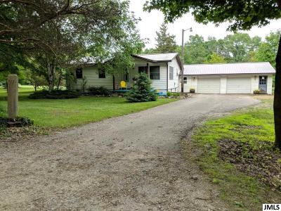 Hillsdale County Single Family Home For Sale: 6945 Wright Rd