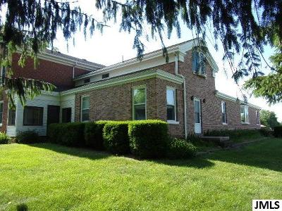 Jackson Single Family Home For Sale: 6634 County Farm