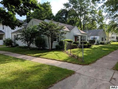 Jackson Single Family Home For Sale: 752 W Franklin St