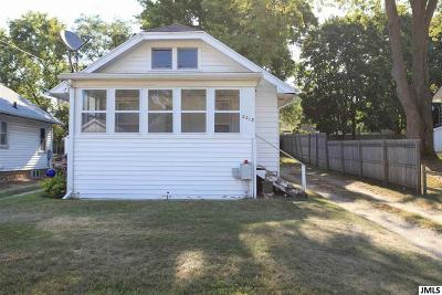 Jackson MI Single Family Home Contingent Bank Approval: $30,000