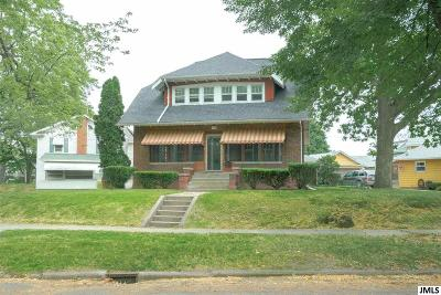 Jackson Single Family Home For Sale: 1100 Hamlin