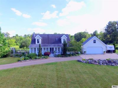 Single Family Home For Sale: 8295 County Farm
