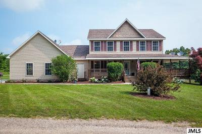 Springport Single Family Home Contingent - Financing: 9898 Pope Church Rd
