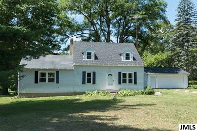 Grass Lake MI Single Family Home For Sale: $235,000