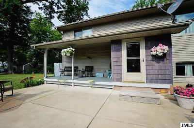 Jackson Single Family Home For Sale: 15200 Wolf Lake Forest