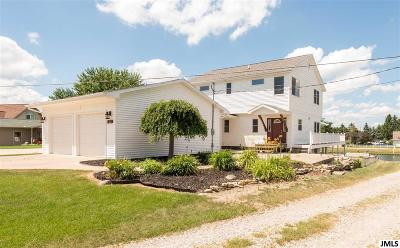 Brooklyn MI Single Family Home Contingent - Financing: $449,900