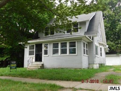 Jackson Single Family Home For Sale: 138 W Euclid Ave