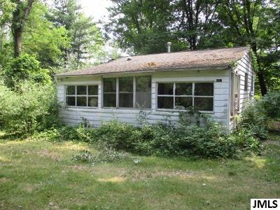 Grass Lake Single Family Home For Sale: 857 Chicago