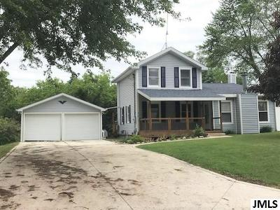Grass Lake Single Family Home For Sale: 318 Union St