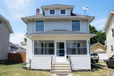 Jackson MI Single Family Home For Sale: $87,900
