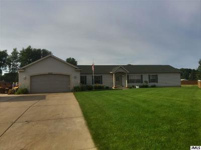 Jackson MI Single Family Home For Sale: $186,400