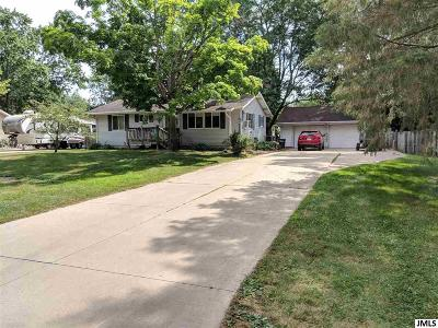 Jackson MI Single Family Home For Sale: $145,000