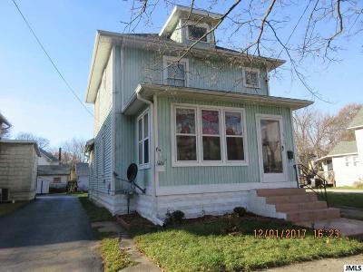 Jackson MI Single Family Home For Sale: $54,900