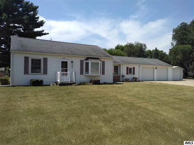 Jackson MI Single Family Home For Sale: $119,000