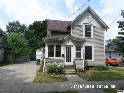 Jackson MI Single Family Home For Sale: $29,900