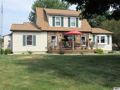 Jackson County, Hillsdale County, Lenawee County, Washtenaw County Single Family Home For Sale: 8856 Kingsley Dr