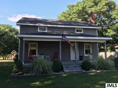 Jackson MI Single Family Home For Sale: $144,900