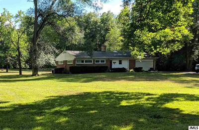 Jackson Single Family Home For Sale: 3091 Hendee Rd