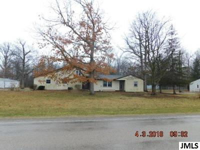 Single Family Home For Sale: 10779 Slee Rd
