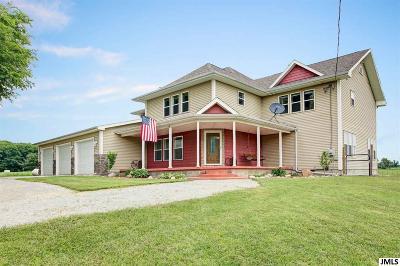 Onondaga Single Family Home For Sale: 5305 Hunt Rd