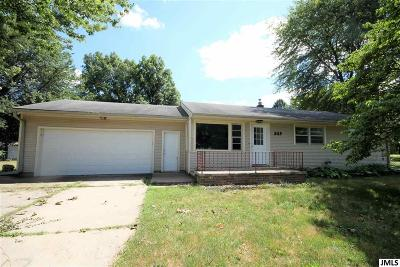 Parma Single Family Home Contingent - Financing: 529 E Grove St