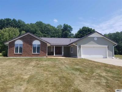 Single Family Home For Sale: 13349 Bunkerhill Rd