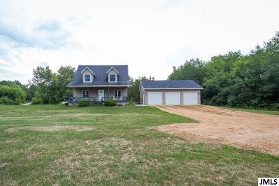 Horton MI Single Family Home For Sale: $259,900