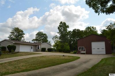 Lansing Single Family Home For Sale: 6815 Aurelius