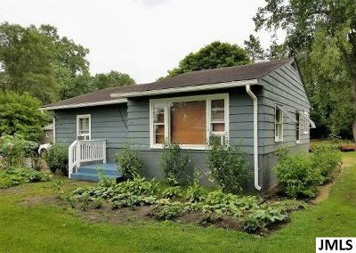 Michigan Center Single Family Home For Sale: 445 Broad St
