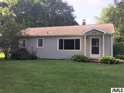Spring Arbor Single Family Home For Sale: 6749 King Rd