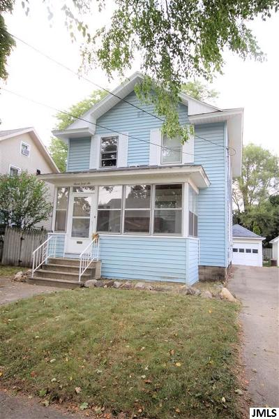 Jackson Single Family Home For Sale: 746 Union St