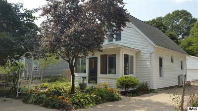 Jackson Single Family Home For Sale: 628 Loomis