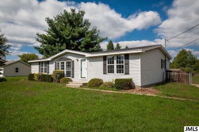 Michigan Center Single Family Home For Sale: 930 Napoleon Rd