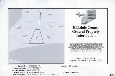 Cement City MI Residential Lots & Land For Sale: $10,000