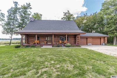 Pleasant Lake Single Family Home For Sale: 310 Bunkerhill Rd