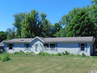 Albion Single Family Home For Sale: 121 E Elizabeth