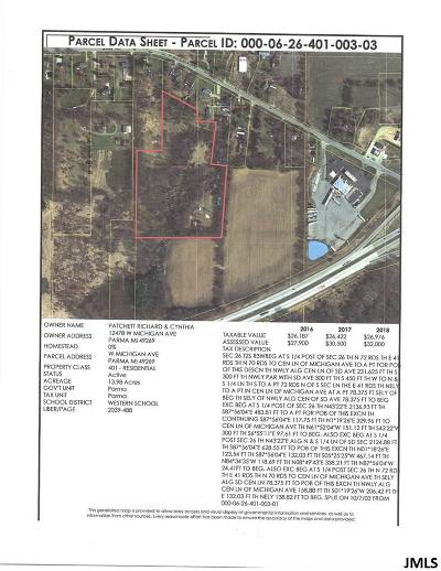Parma MI Residential Lots & Land For Sale: $79,900