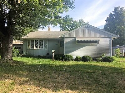 Michigan Center Single Family Home For Sale: 192 Cherry Street