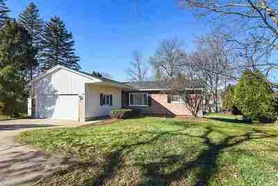 Jackson MI Single Family Home For Sale: $184,900