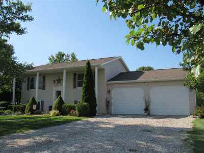 Onsted MI Single Family Home For Sale: $186,900