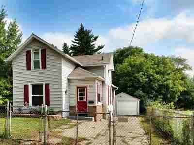 Jackson MI Single Family Home For Sale: $84,900